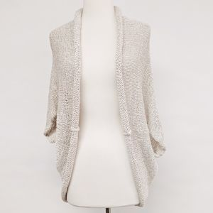 zara knit | open front dolman sleeve cardigan sz M